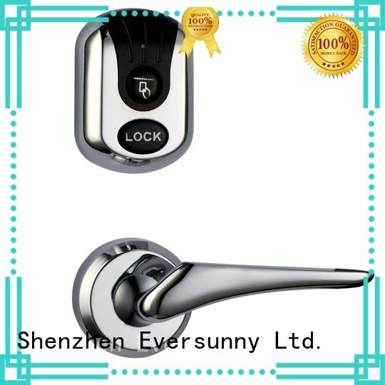 Eversunny Electronic card door lock system international standard for apartment