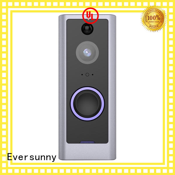 convenient wifi video doorbell with central management control system for door