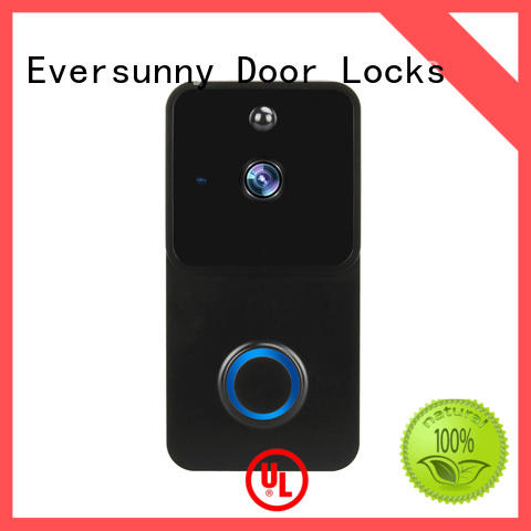 Eversunny smart wireless smart doorbell with central management control system for door