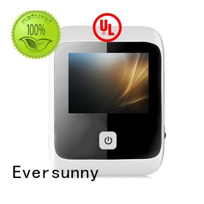 Eversunny battery front door eye viewer large wide-angle lens for villa
