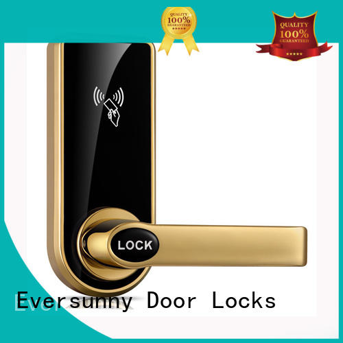 Eversunny rfid card door lock with central management control system for door
