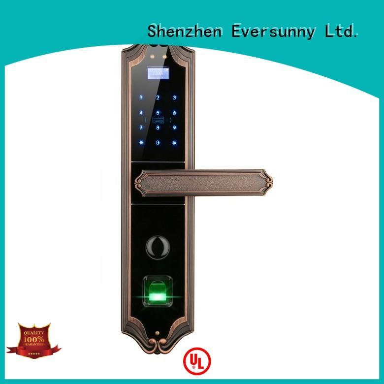 Eversunny wifi fingerprint entry system supplier for residence