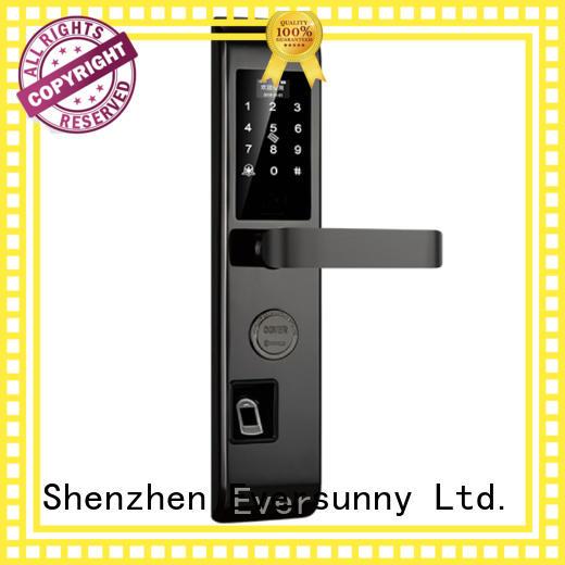 safe fingerprint scanner door lock supplier for cottage