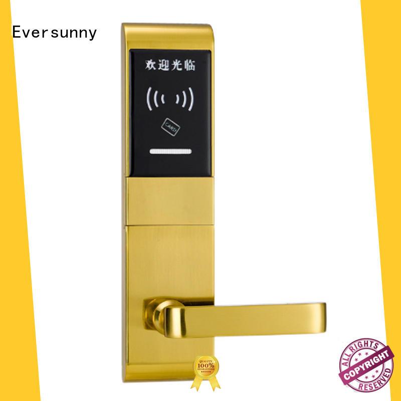 smart swipe card door lock international standard for home