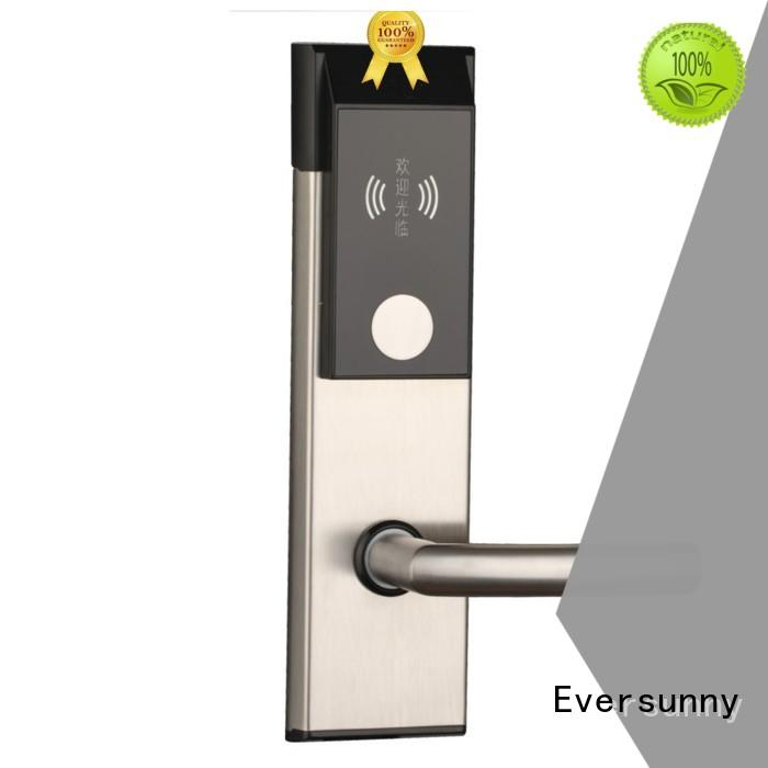 reliable card lock system stainless steel for door