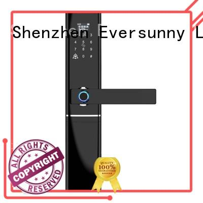 Eversunny intelligent keyless door lock good quality for villa