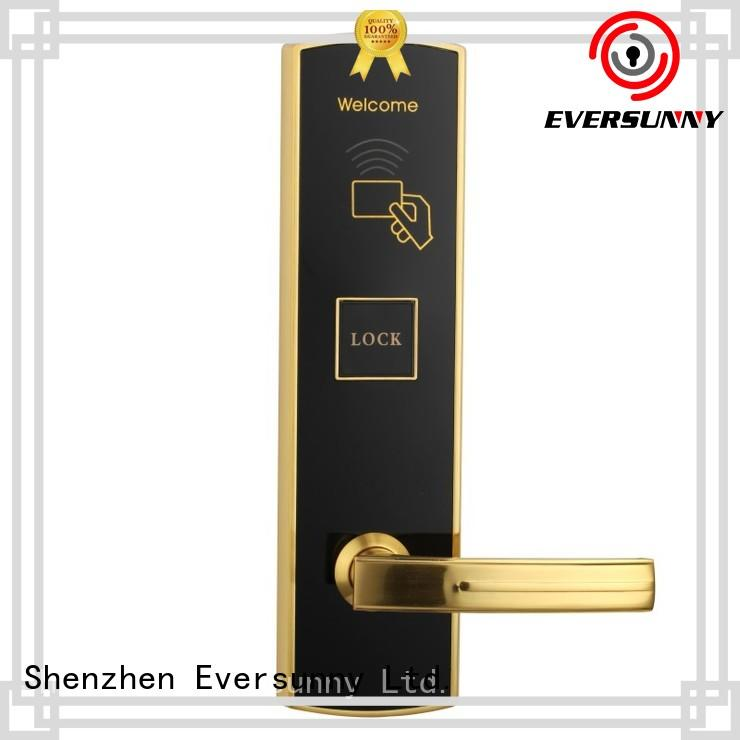 Eversunny entry electronic card lock system hotel smart locks for hotel