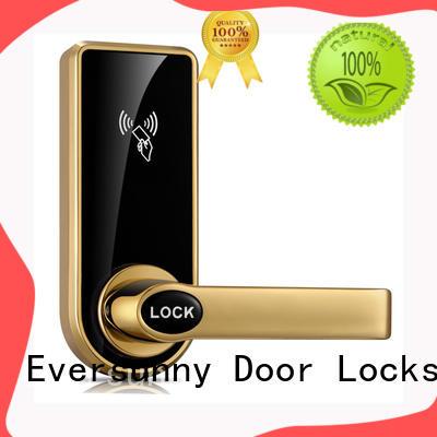 key card door lock price steel door Eversunny