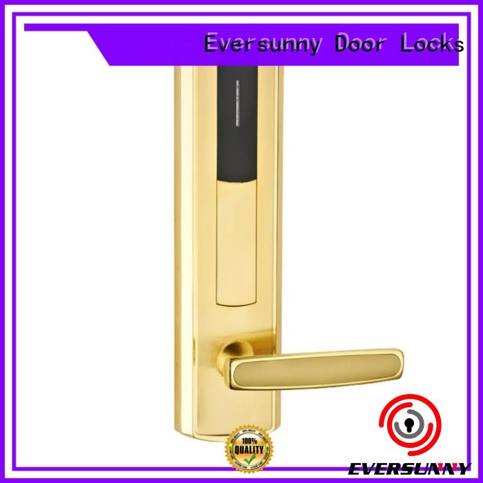 convenient hotel card lock stainless steel for door