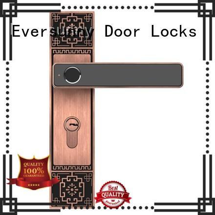 Eversunny durable home fingerprint lock deadbolt for apartment