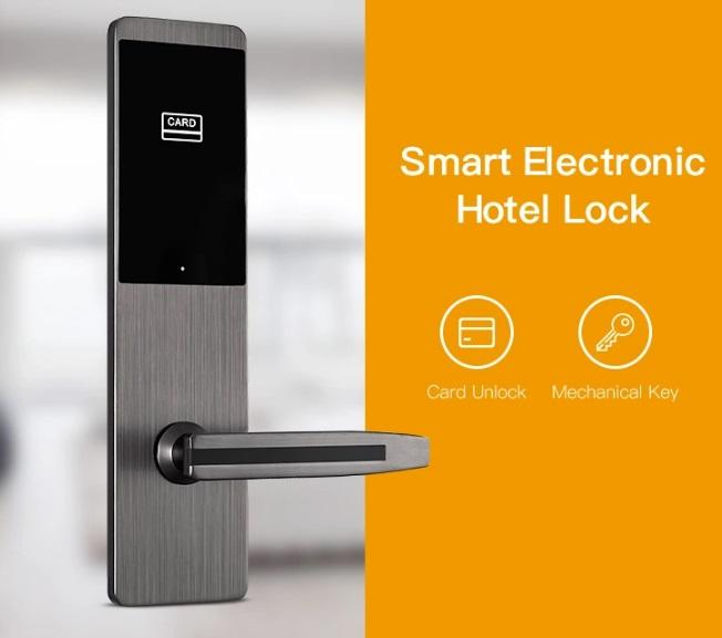Eversunny fast card lock system hotel smart locks for apartment-1