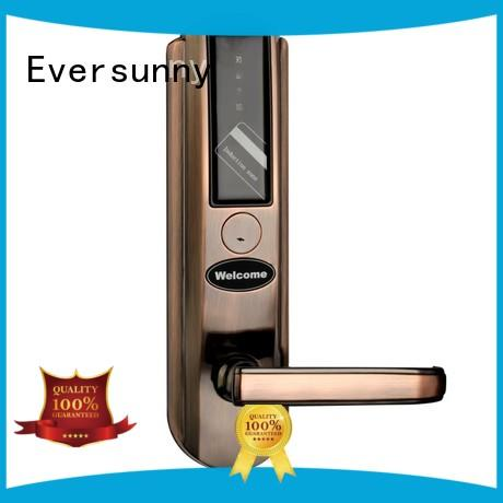 stainless open door with card hotel smart locks for home Eversunny