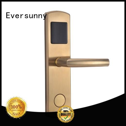 safe swipe card door lock with central management control system for apartment