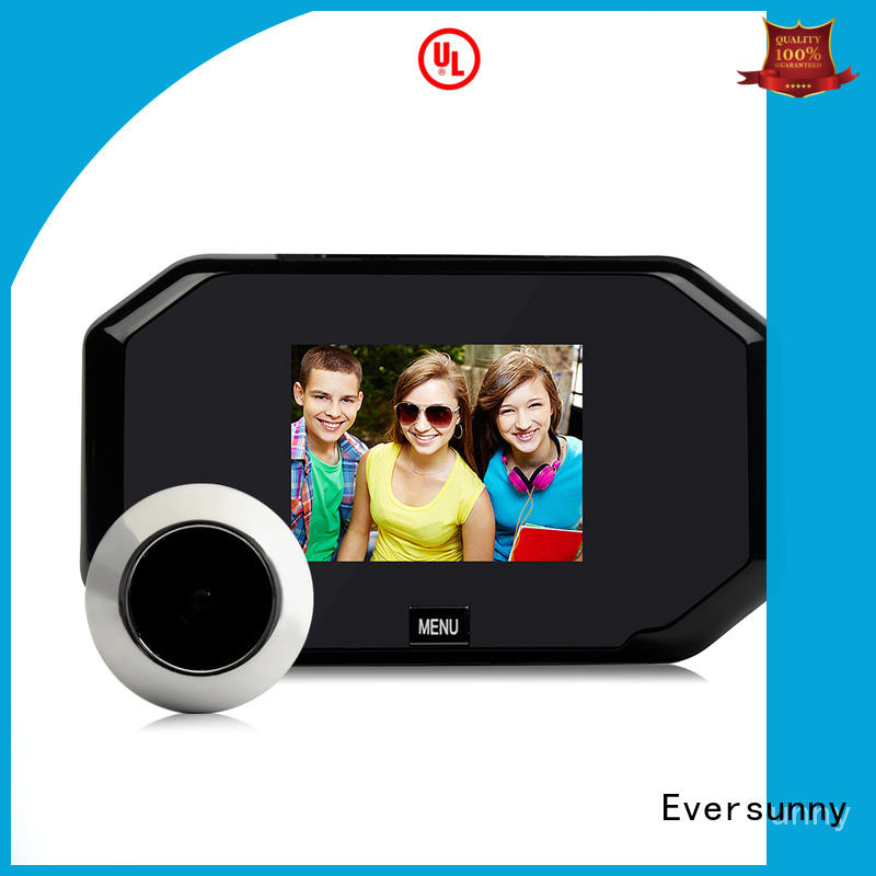 Eversunny security door viewer large wide-angle lens