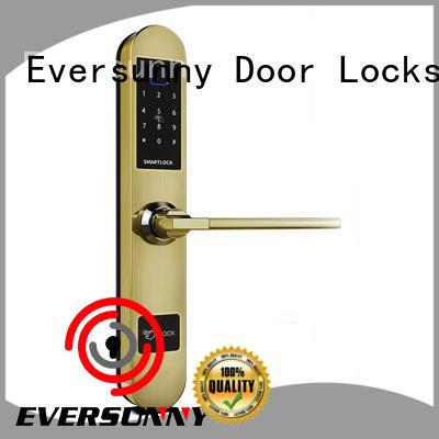 Eversunny best keyless door locks touch screen for villa