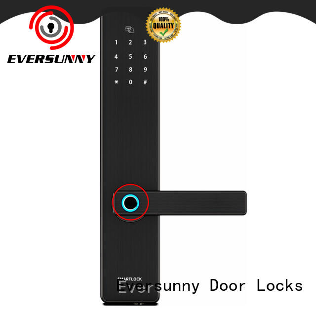 Eversunny keyless entry door lock touch screen for cottage