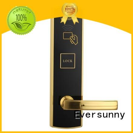 Eversunny convenient key card lock system hotel smart locks for apartment