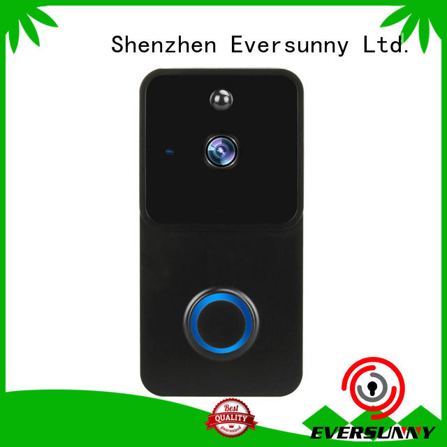 Eversunny Electronic wifi enabled doorbell stainless steel for hotel