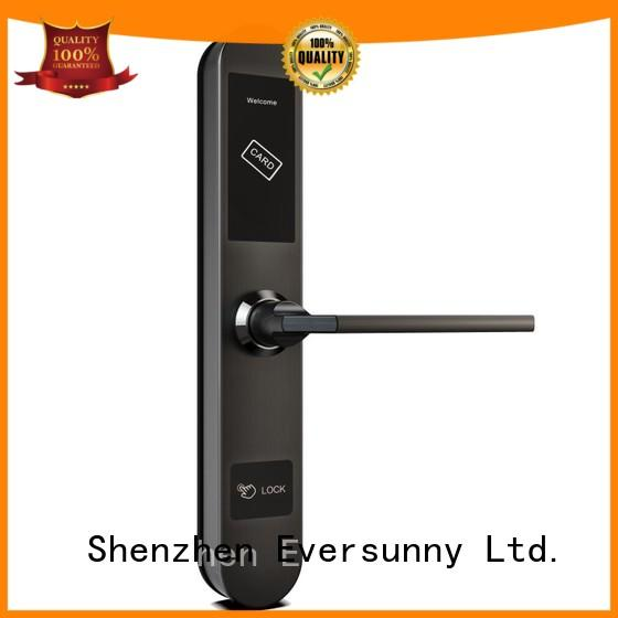 Eversunny smart hotel key card lock energy-saving for apartment