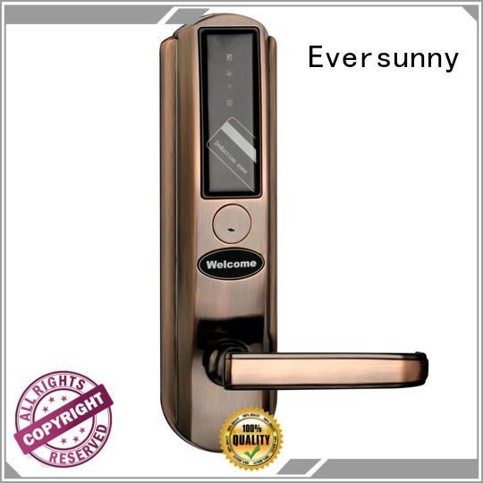 Eversunny hotel card reader door lock international standard for home