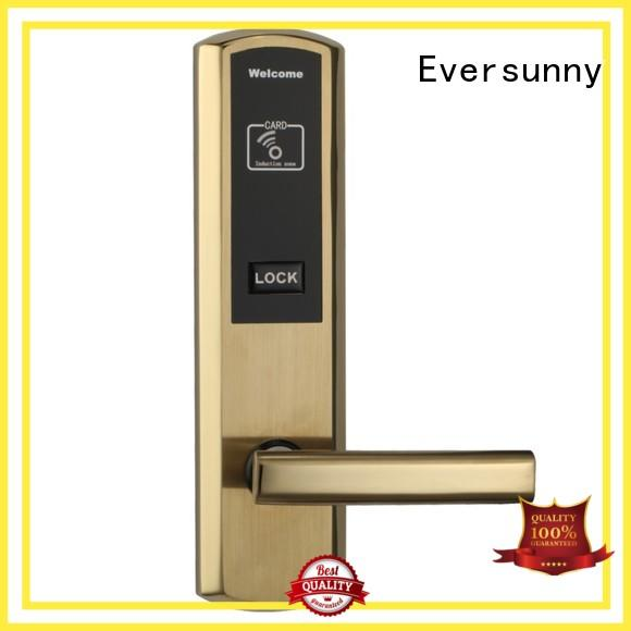 Eversunny convenient card door entry system with central management control system for hotel