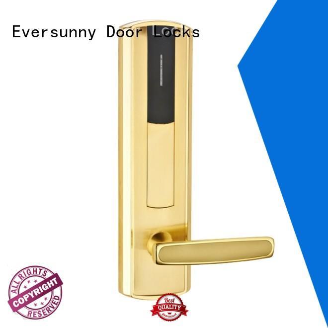 Eversunny safe keycard lock hotel smart locks for apartment