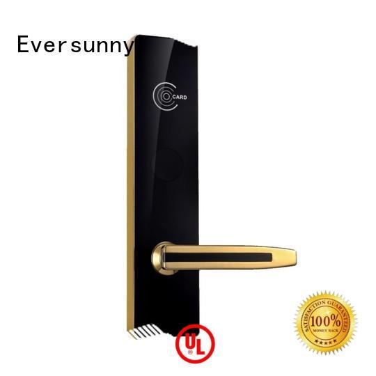 Intelligent  Hotel Door Lock Waterproof Zinc alloy Surface KB828