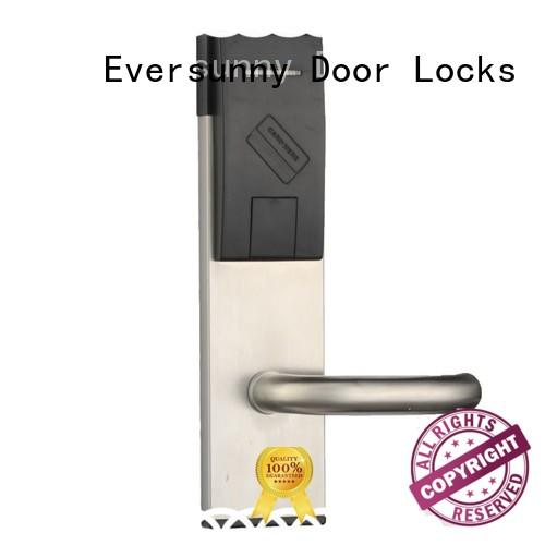 convenient rfid card door lock system digital energy-saving for home