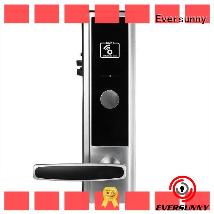 Eversunny convenient card door lock with central management control system for hotel