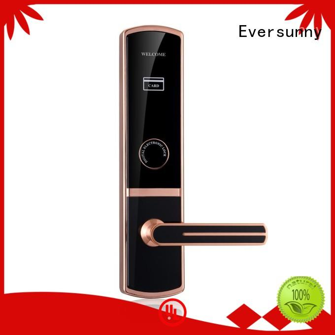 convenient door key card system stainless steel for apartment