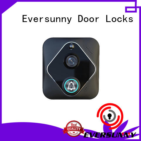 Eversunny wi fi enabled video doorbell international standard for hotel