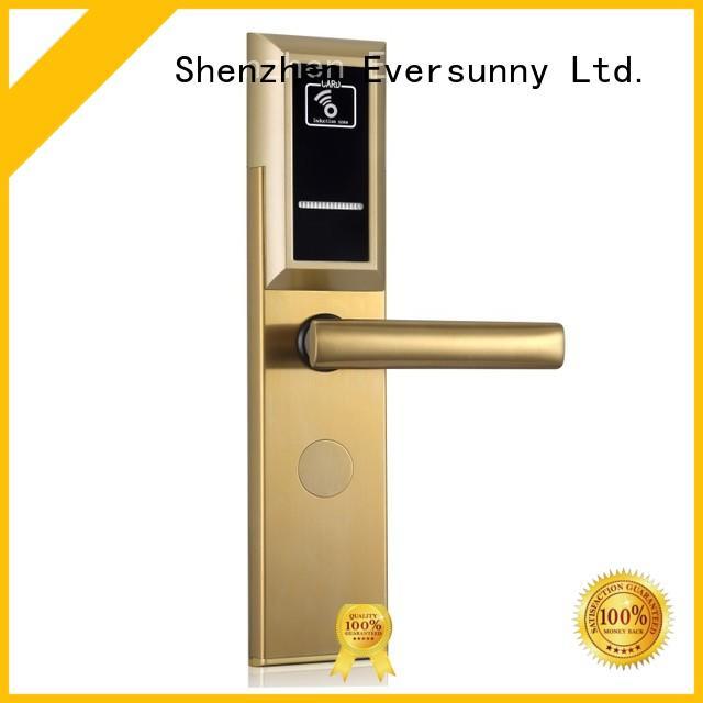 convenient card reader door lock smart stainless steel for door