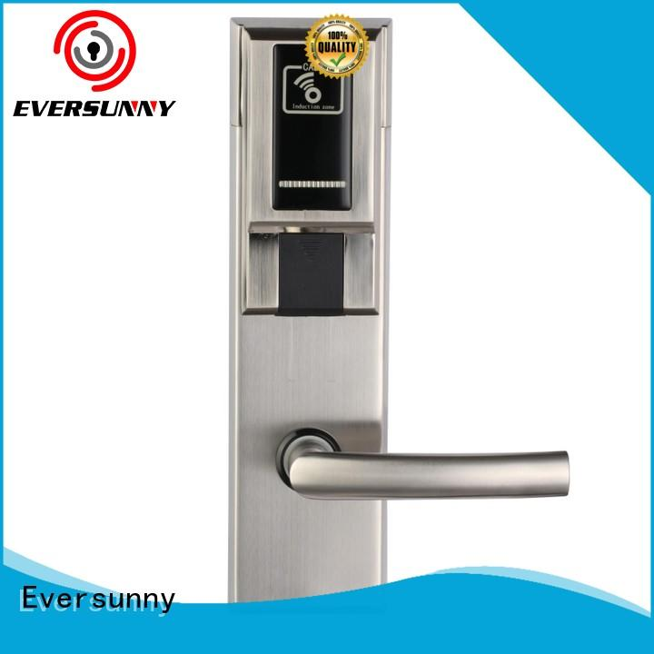 Eversunny fast hotel room key card system international standard for door