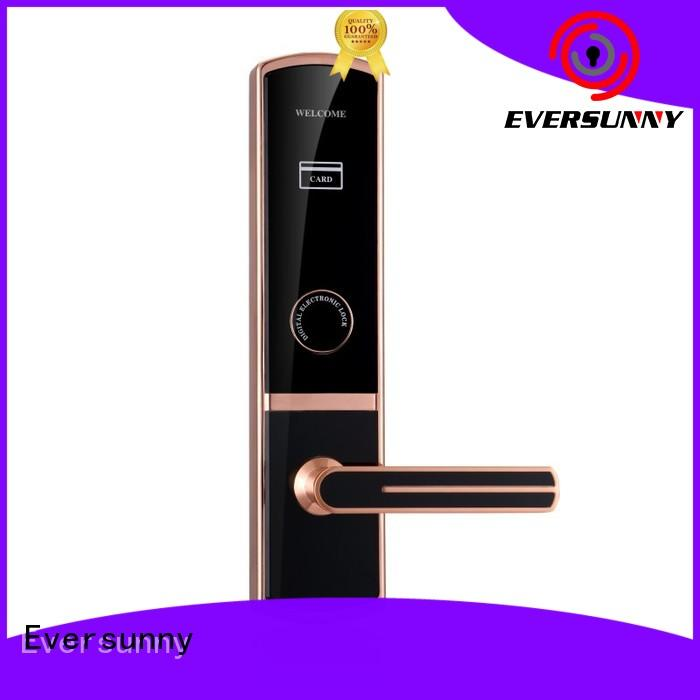 Eversunny electronic card access locks with central management control system for door