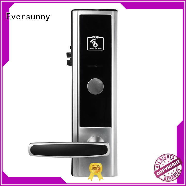 Eversunny access card entry system with central management control system for home