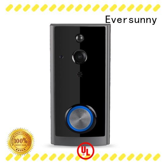 Electronic wireless video doorbell energy-saving for hotel