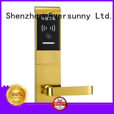 Eversunny card door lock system stainless steel for door