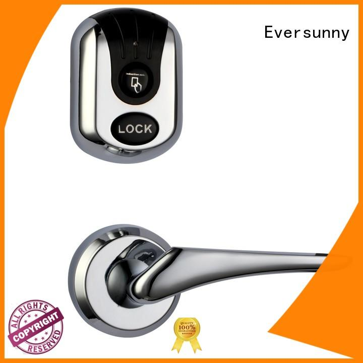 Eversunny reliable rfid card lock with central management control system for home