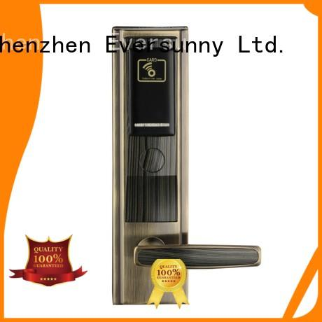Electronic key card door lock system electronic stainless steel for hotel