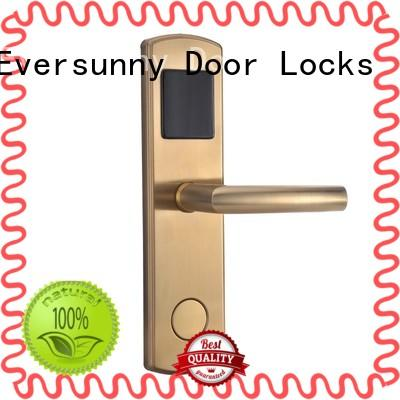 Eversunny smart card access door lock system hotel smart locks for door