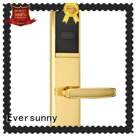Eversunny smart card door lock stainless steel for door