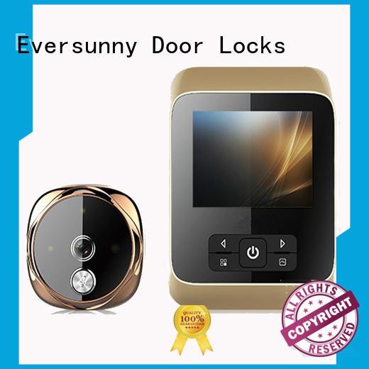 Eversunny electronic digital door peephole camera display for Aluminum alloy door