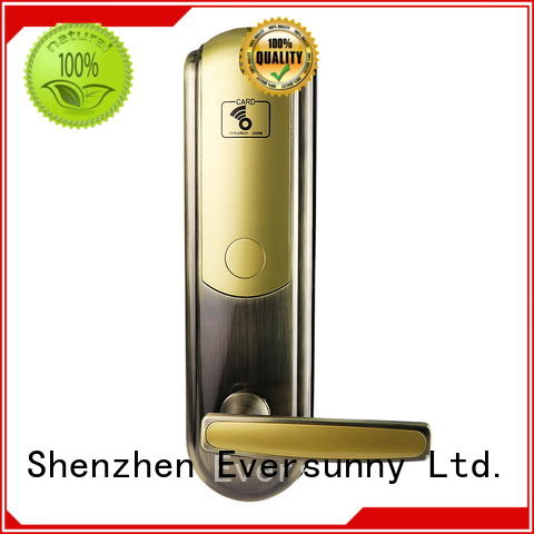 Eversunny hotel hotel key card system price hotel smart locks for apartment