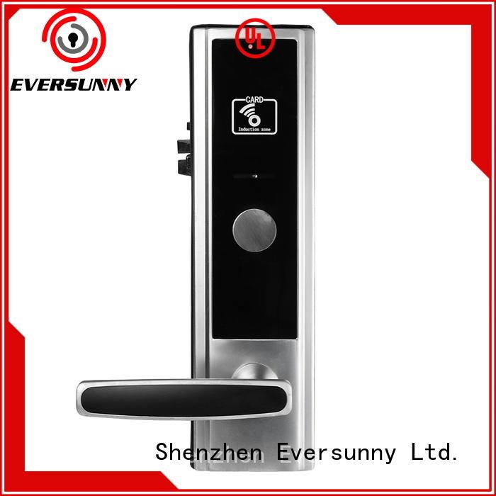 Eversunny key card lock system hotel smart locks for door